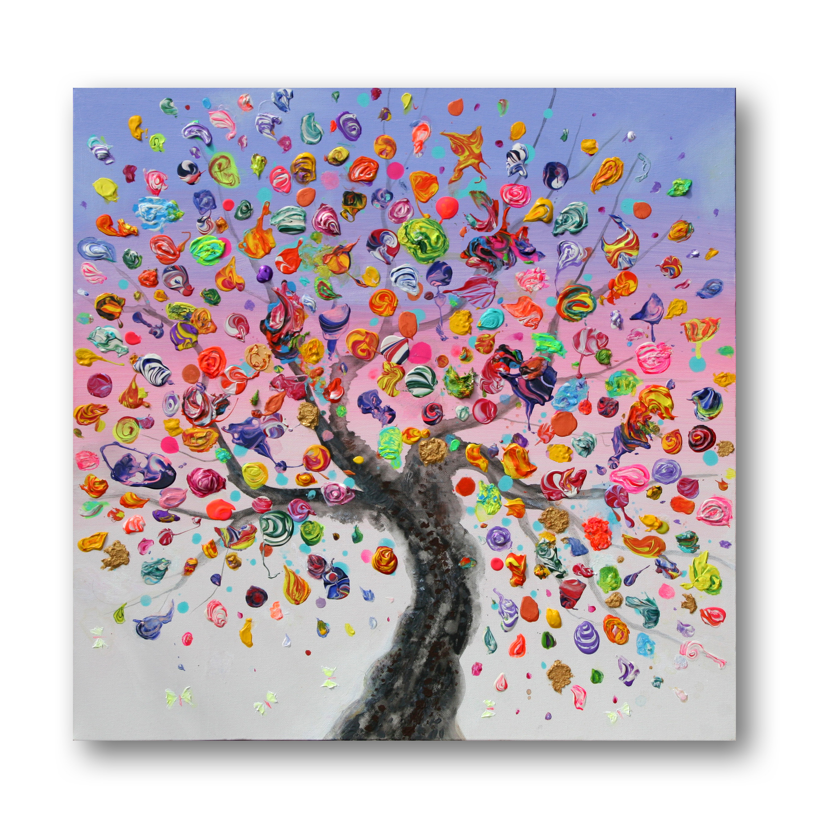 Butterfly Tree2Acrylic on stretched canvas