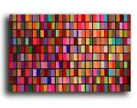 mosaic135a / Acrylic on stretched canvas / 48x30 inches click for more info