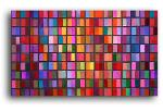mosaic138 / Acrylic on stretched canvas / 48x30inches click for more info