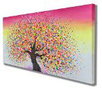 summertree7 / Acrylic on stretched canvas / 40x20inches click for more info