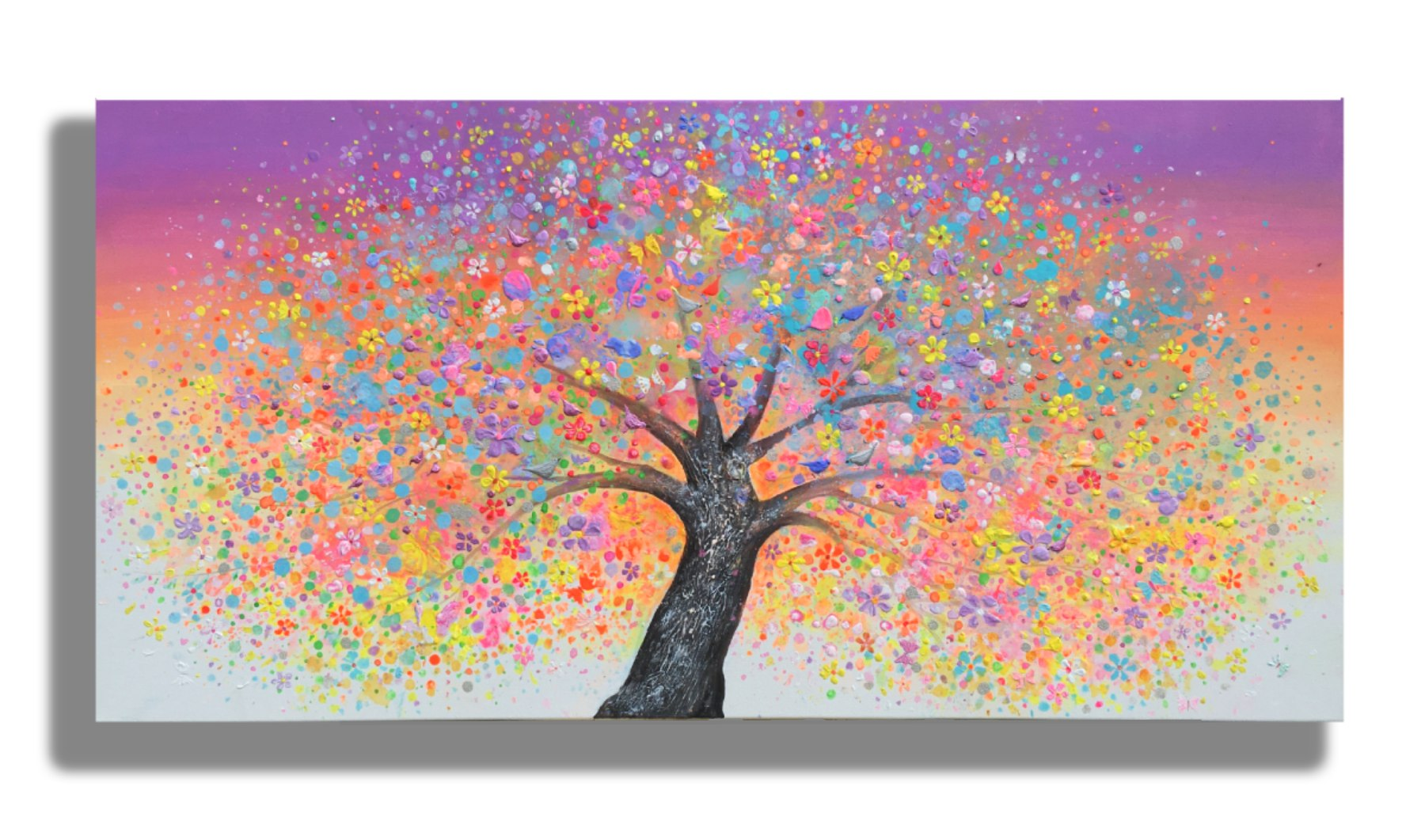 Summer TreeAcrylic on stretched canvas